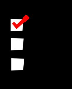 Check clipart checklist Check Sales Check the Checklist