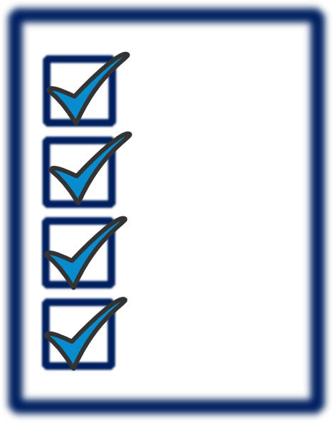 Check clipart checklist Checklist list art Clipart BBCpersian7