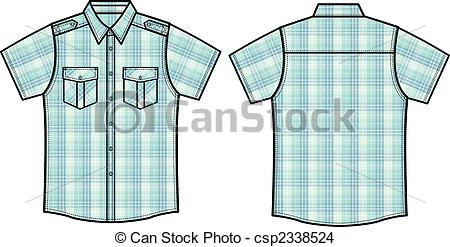 Check clipart mens shirt Clip Art Search of Stock