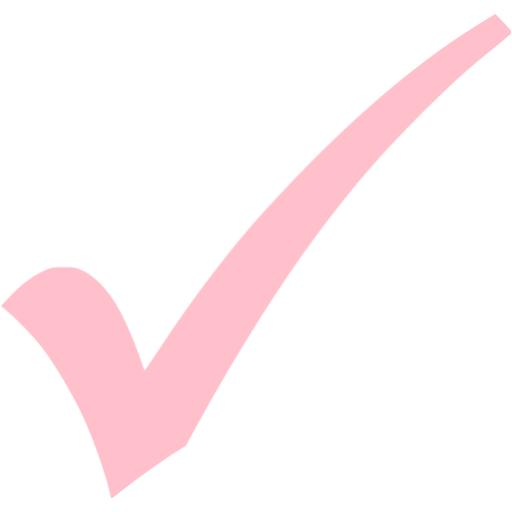 Check clipart pink Check check icon mark pink