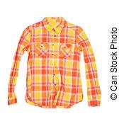 Plaid clipart gingham  358 orange shirt Illustrations