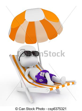 Check clipart relaxed person A Relaxing Relaxing Illustration on
