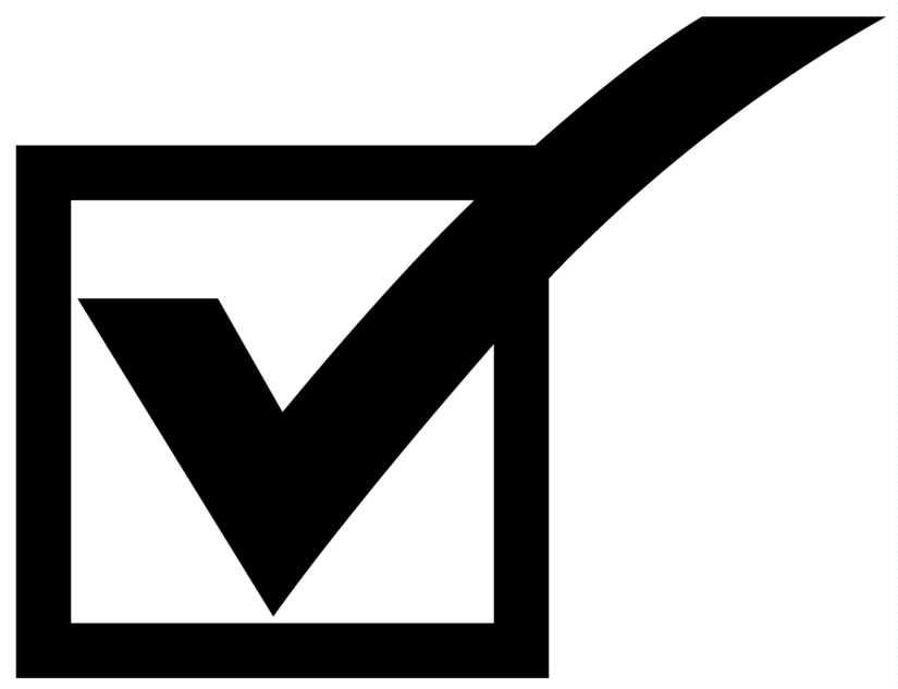 Check clipart sign Clipart Clip  Checkmark Box