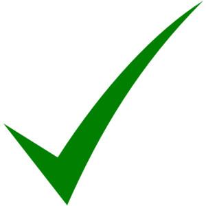 Check clipart true Clip art Check Polyvore Mark