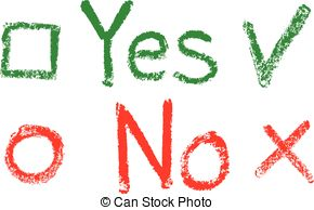 Check clipart yes 626 a with art Yes