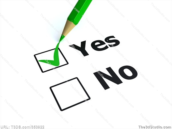 Check clipart yes Collection Yes Yes Vote Clipart