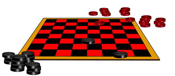 Checkerboard clipart Art Checkerboard Board with