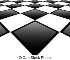 Checkerboard clipart floor Illustrationby Stock with white Stock