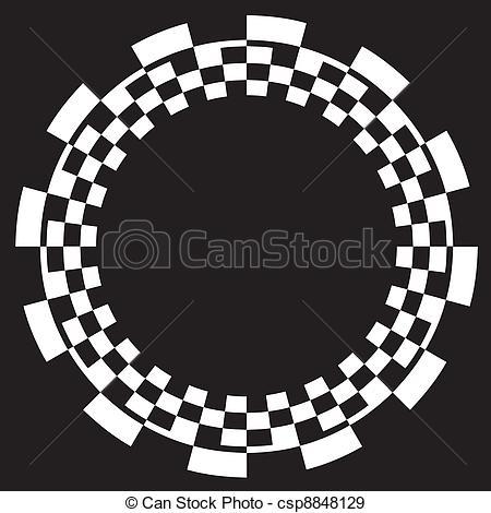 Checkerboard clipart vector pattern Vectors White csp8848129 Checkerboard black