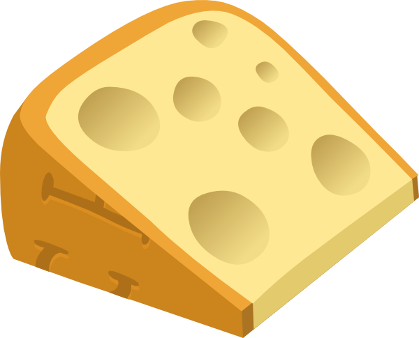 Cheese clipart small Clip Clker at vector Cheese