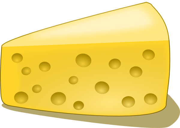 Cheese clipart swiss cheese Clker at online Art image