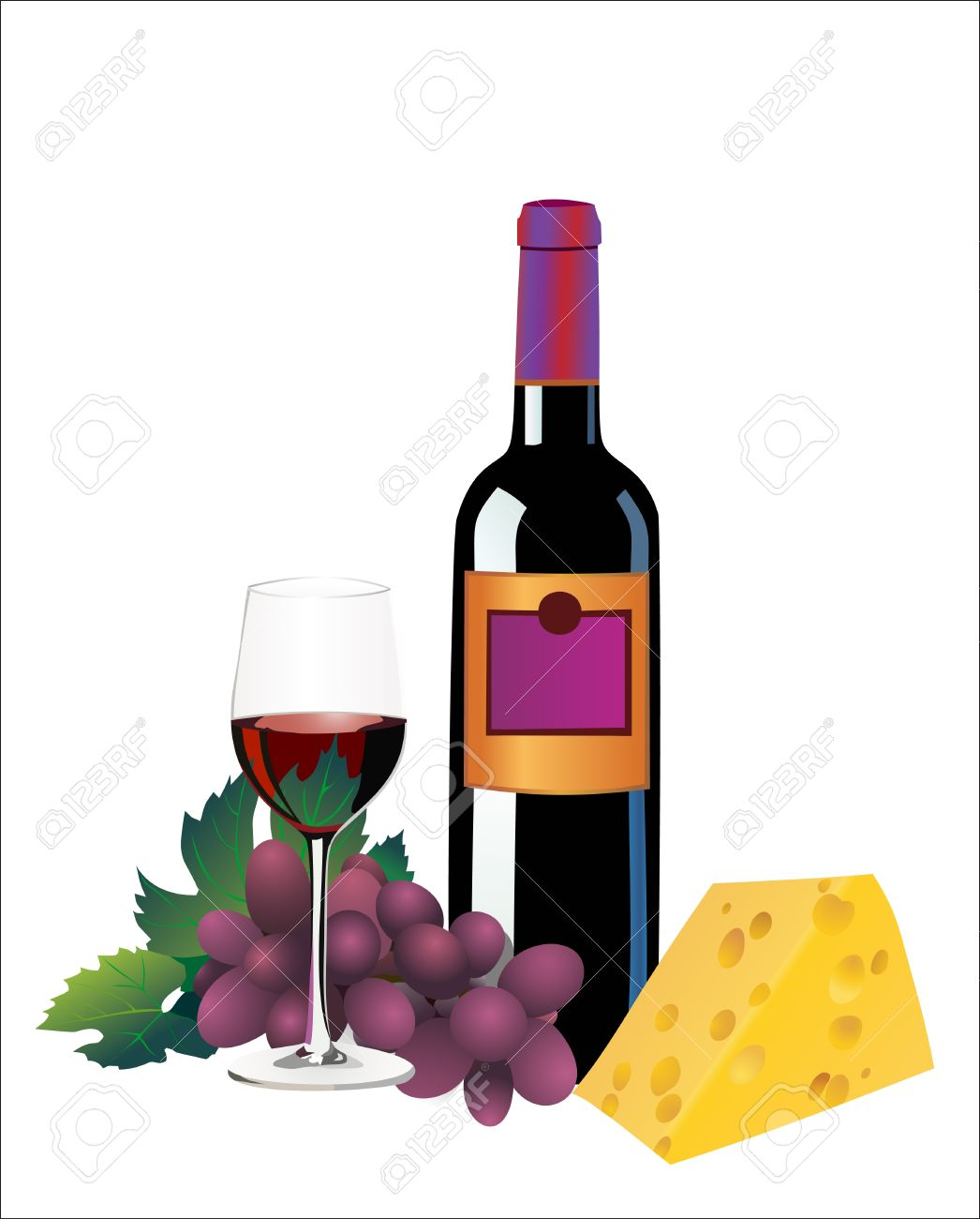 Cheese clipart wine glass Cheese And Clipart Wine Wine
