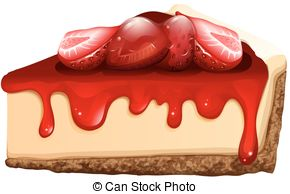 Cheesecake clipart baked Cheesecake  248 Strawberry Stock