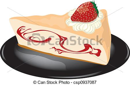 Cheesecake clipart plain A cheesecake  1 Cheesecake