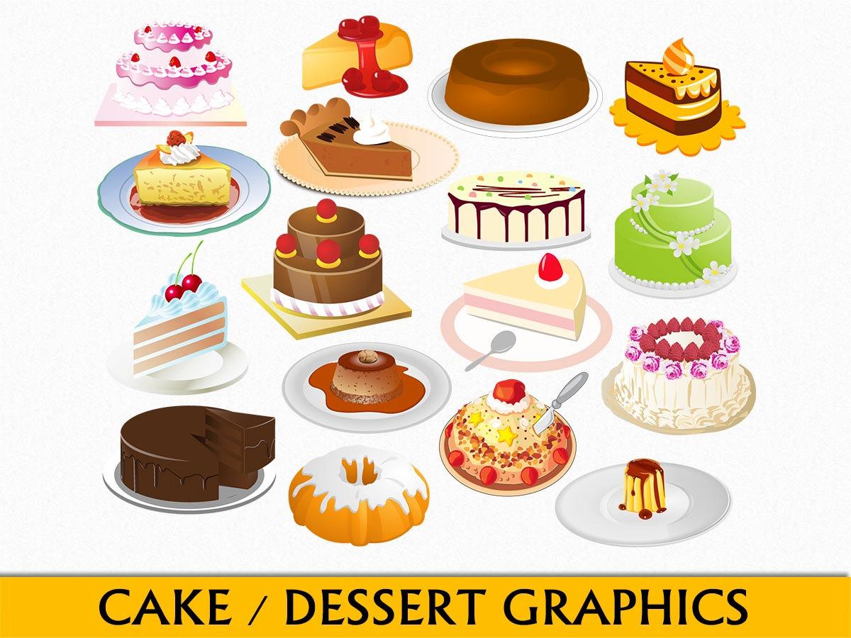 Chocolate clipart bakery food PNG Scrapbook Art art Bundt