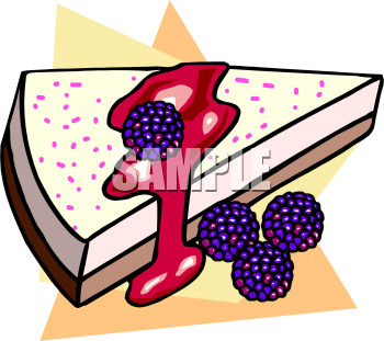 Cheesecake clipart cartoon Clipart com Cheesecake Blackberry Cheesecake