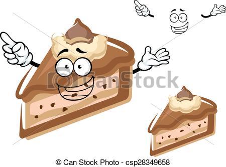 Cheesecake clipart cartoon Cheesecake cheesecake drawn buttercream Vectors