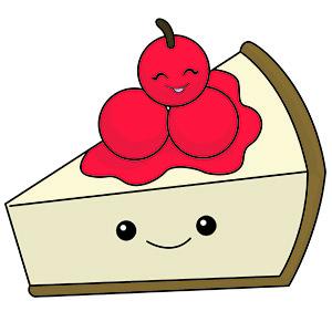 Cheesecake clipart cute Comfort Food is watching binge