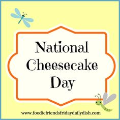 Cheesecake clipart day National National July 30th is