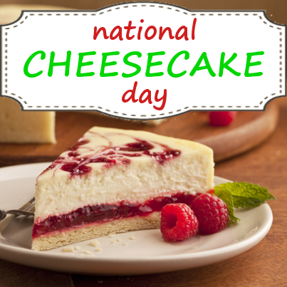 Cheesecake clipart day Clipart holidays Cheesecake Day July