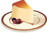 Cheesecake clipart huge Ice Cheesecake Graphics Food Clipart