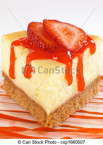 Cheesecake clipart strawberry sauce Of Sauce  csp1660507 Picture