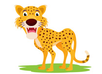 Cheetah clipart Clipart Free Cheetah Pictures Size: