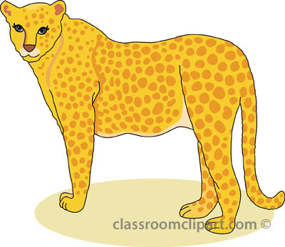 Cheetah clipart Illustrations pictures graphics clipart clipart