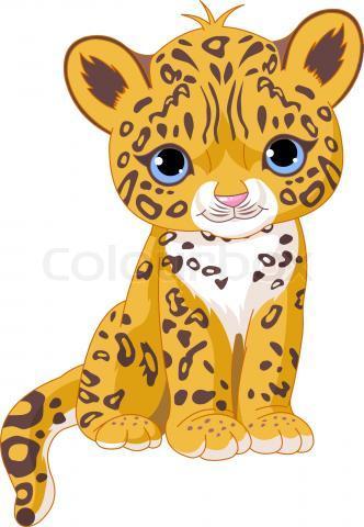 Tigres clipart baby cheetah #3