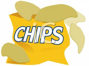 Potato Chips clipart one Of Bags Chips Potato chips