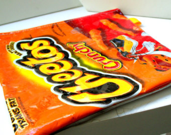 Cheetos clipart bag chip Case chip UPCYCLED bag into
