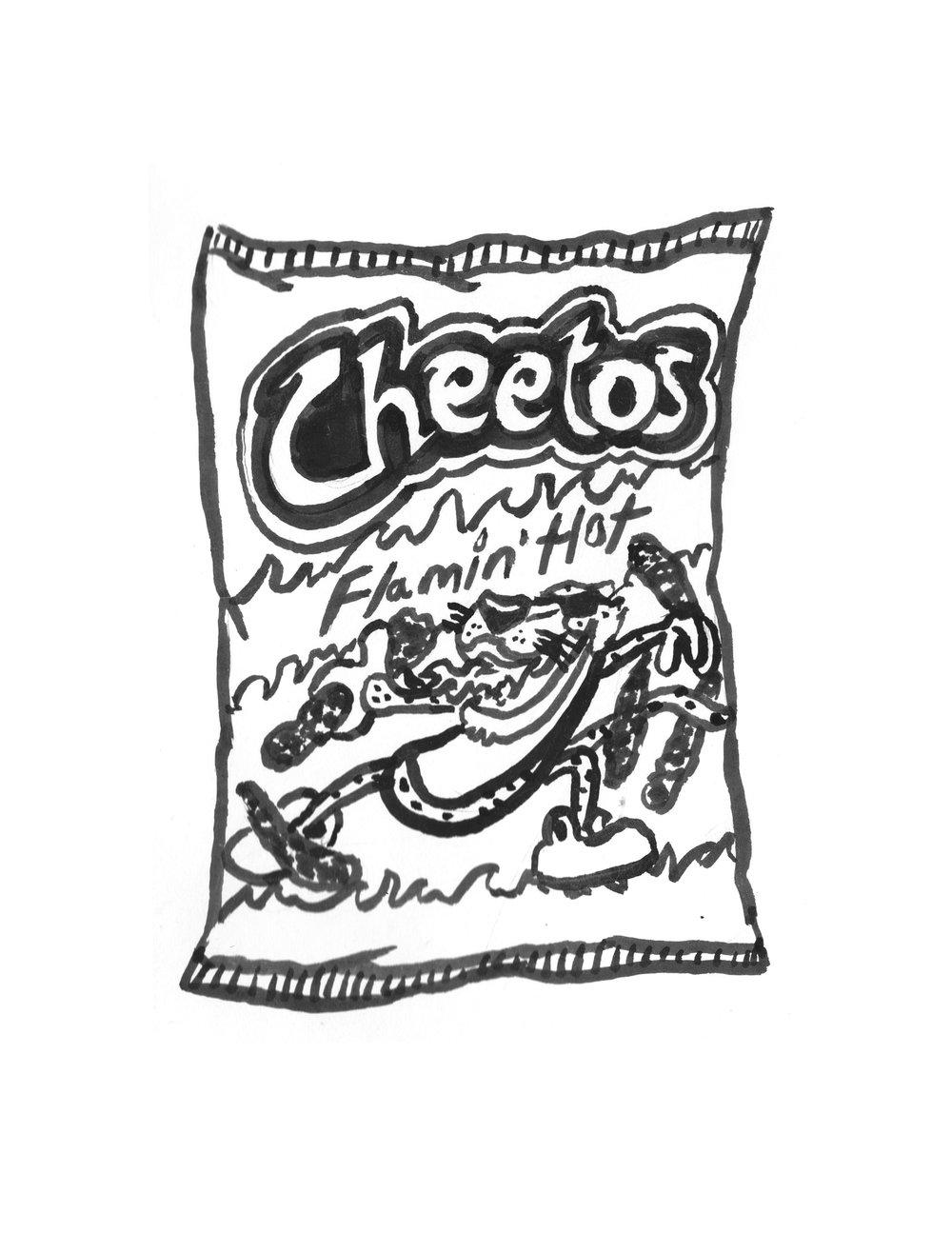 Cheetos clipart black and white Jpg Reps Foster MICOTTI flaminhotcheetos
