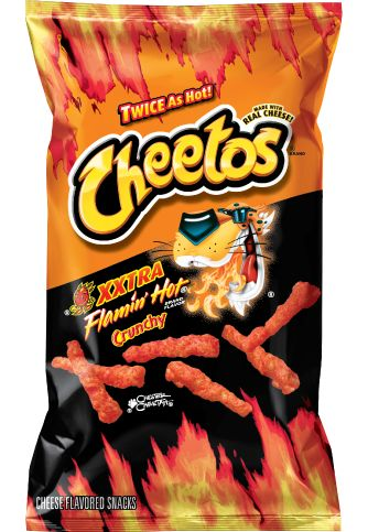 Cheetos clipart crunchy Favorite CHEETOS on are Hot: