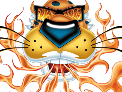 Cheetos clipart fire Dribbble Chester2 Beasley Nathan by