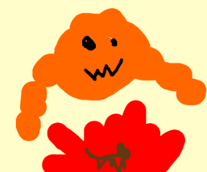 Cheetos clipart fire Cheeto cheeto (drawing to golem