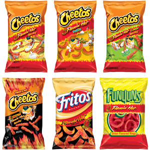 Cheetos clipart flamin hot Flamin' Are 15 Cheetos 15