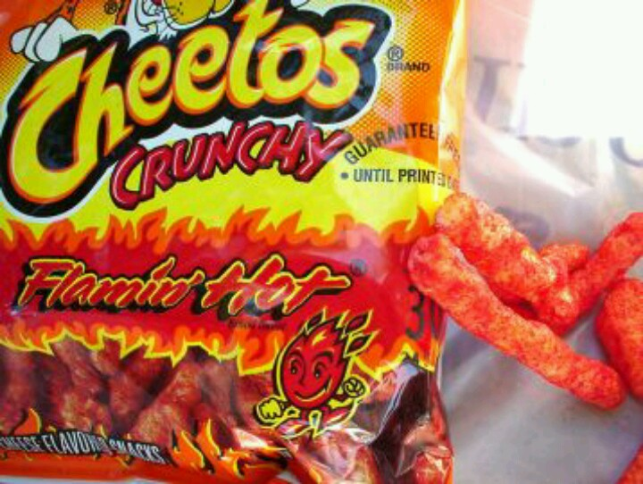 Cheetos clipart red hot Know Cheetos Flamin' You Hot