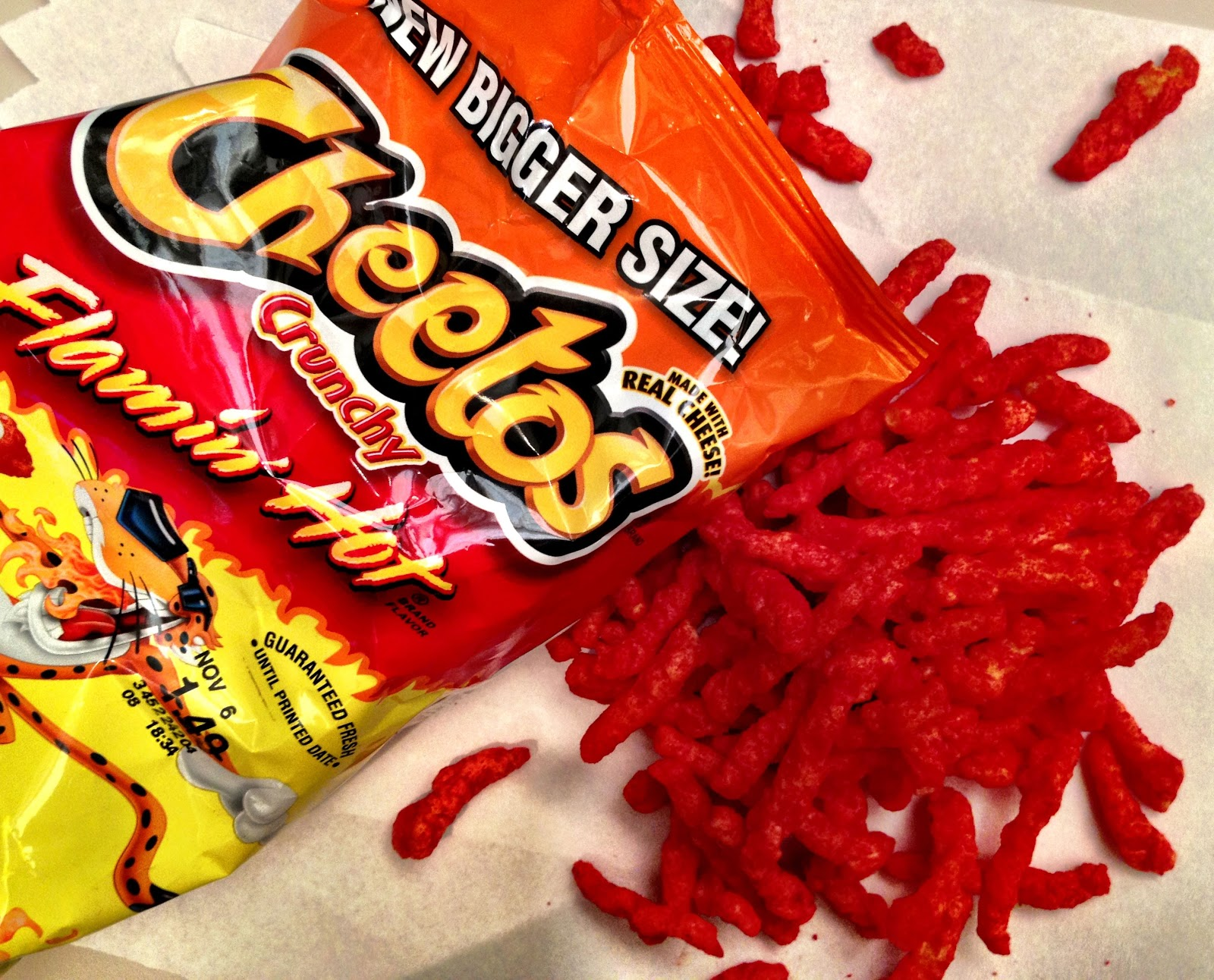 Cheetos clipart red hot Food on Cancerous foods i