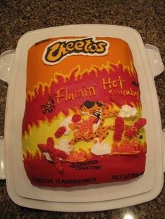 Cheetos clipart red hot Was All Before disgusted cake'