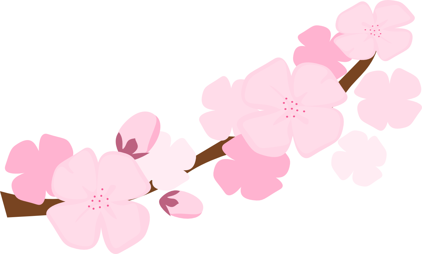 Cherry Blossom clipart  Blossom Art Cherry Clip
