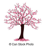 Cherry Blossom clipart Tree Stock Cherry and blossom