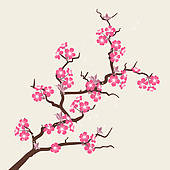 Cherry Blossom clipart With Cherry Royalty flowers cherry