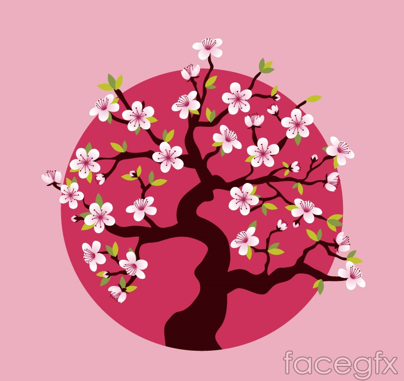 Blossom clipart pink blossom Download Illustration Bloom cherry blossom