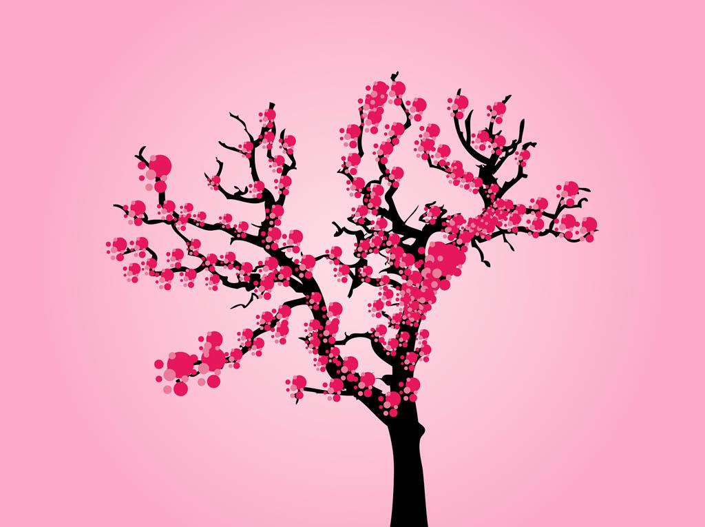 Cherry Tree clipart animated Free Cartoon Free Vectors Tree