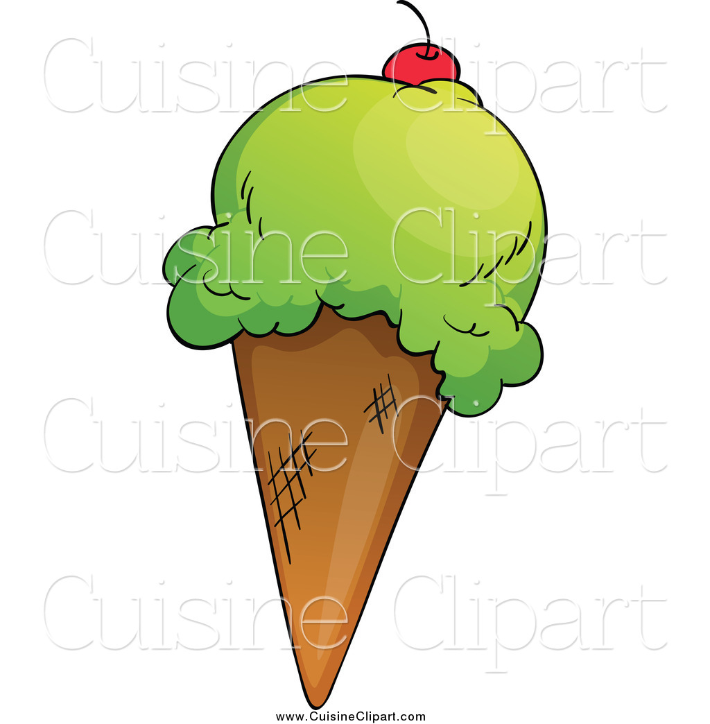Waffle Cone clipart ice candy A and Waffle  Cuisine