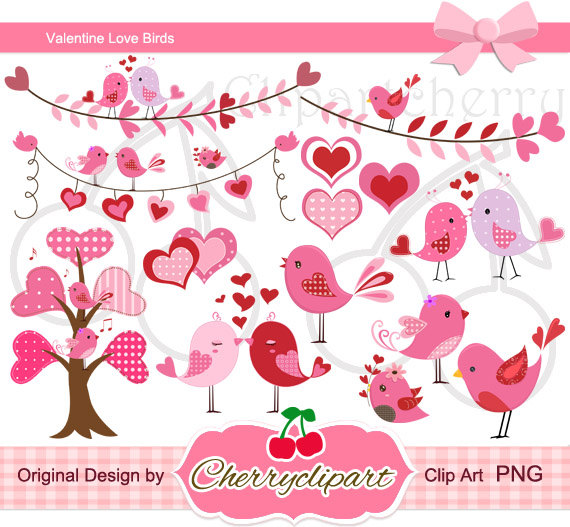 Cards clipart paper Valentine Personal Love Digital Digital