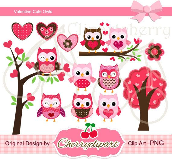 Owlet clipart reindeer And Pinterest Clipart Valentine Personal