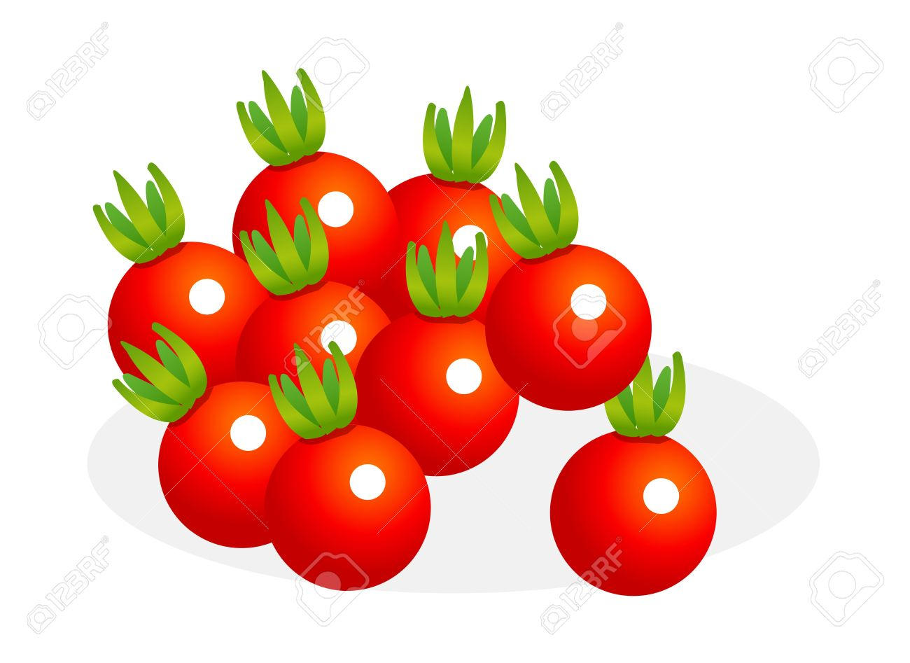 Cherry Tomato clipart bush Clipart — Clipart Cherry Cherry