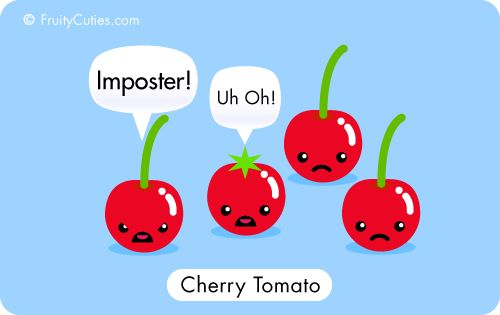 Cherry Tomato clipart cartoon  and style food joke