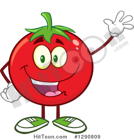 Cherry Tomato clipart happy Tomato Clipart Clipart Character a